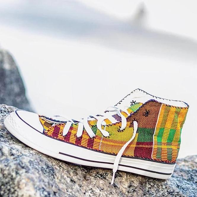 Kente Shoes