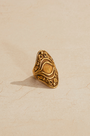 Oval Baroque Ring