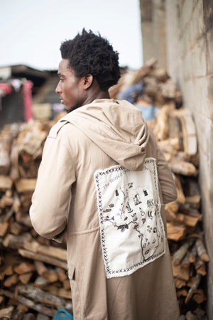 "Parka ""Africa, the richest continent in the world"""