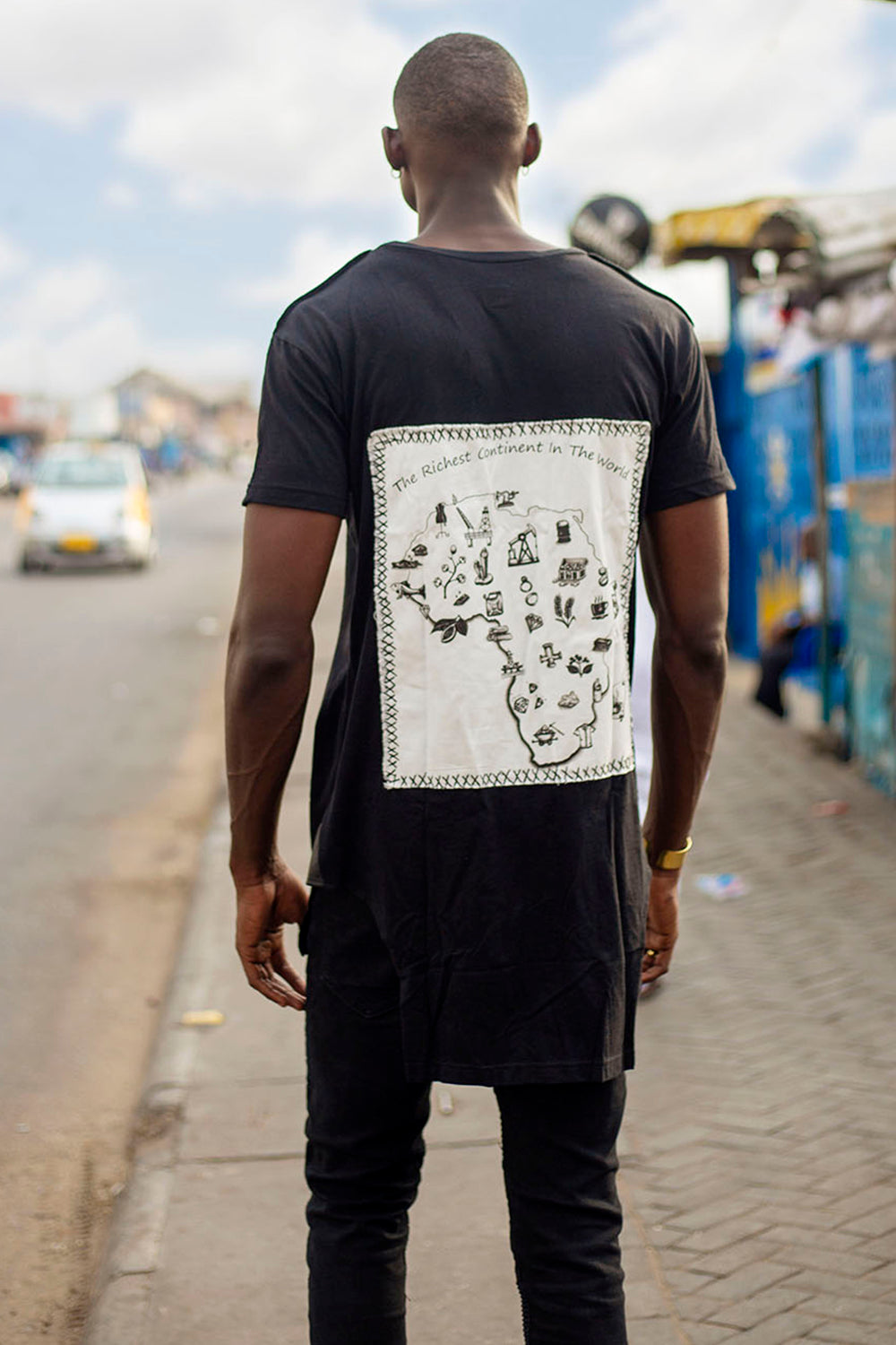 "Tee ""Africa, the richest continent in the world"""