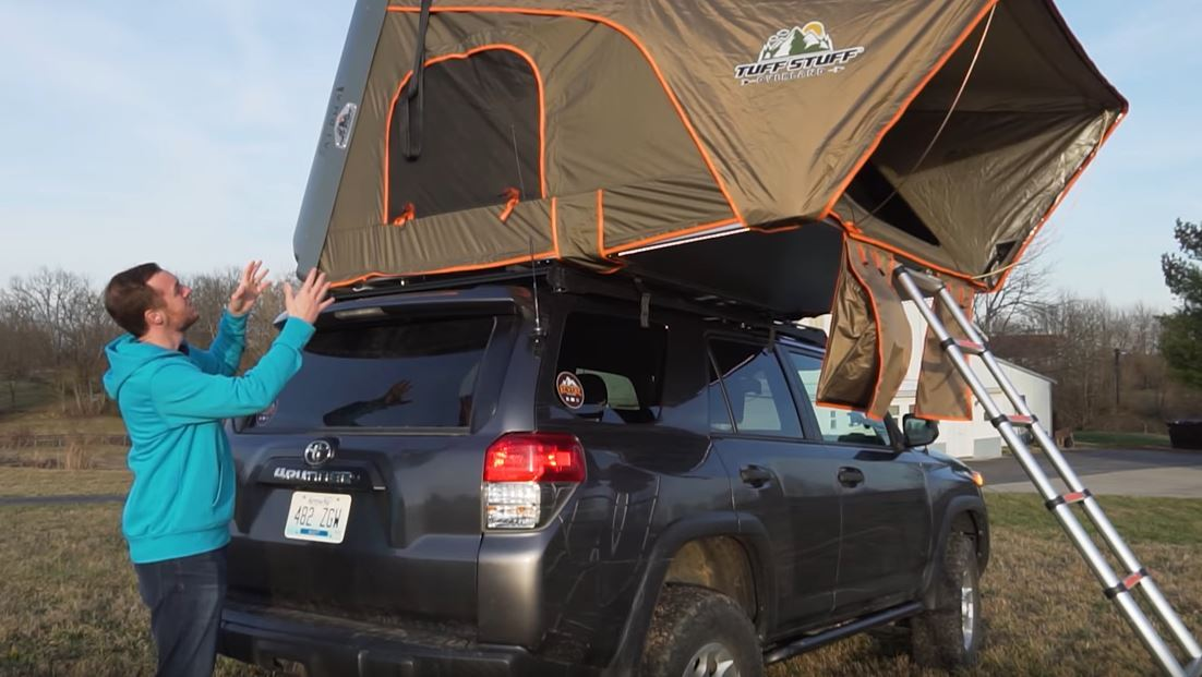 Roof Top Tent Alpha Review by Revere Overland | Tuff Stuff 4x4 & Tuff Stuff Overland