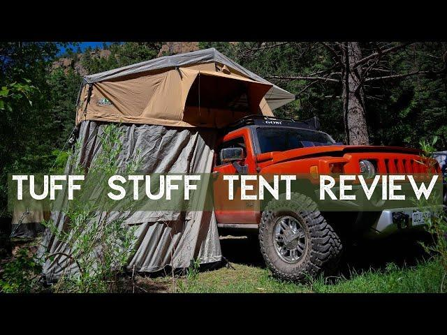 Tuff Stuff Ranger Roof Top Tent Review | Tuff Stuff 4x4 & Tuff Stuff Overland