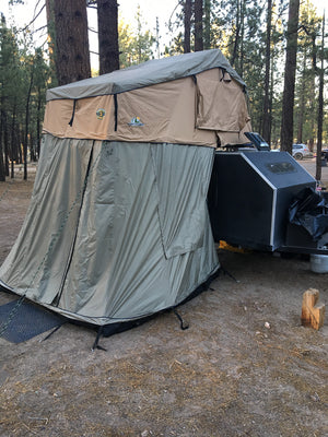"Tuff Stuff® ""Ranger"" Roof Top Tent & Annex Room, 3 Person"
