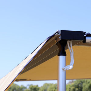 Designed for use on our 4.5 x 6-foot rooftop awning Includes 2 qty ground stakes and 1 qty 4.5 x 6-foot panel