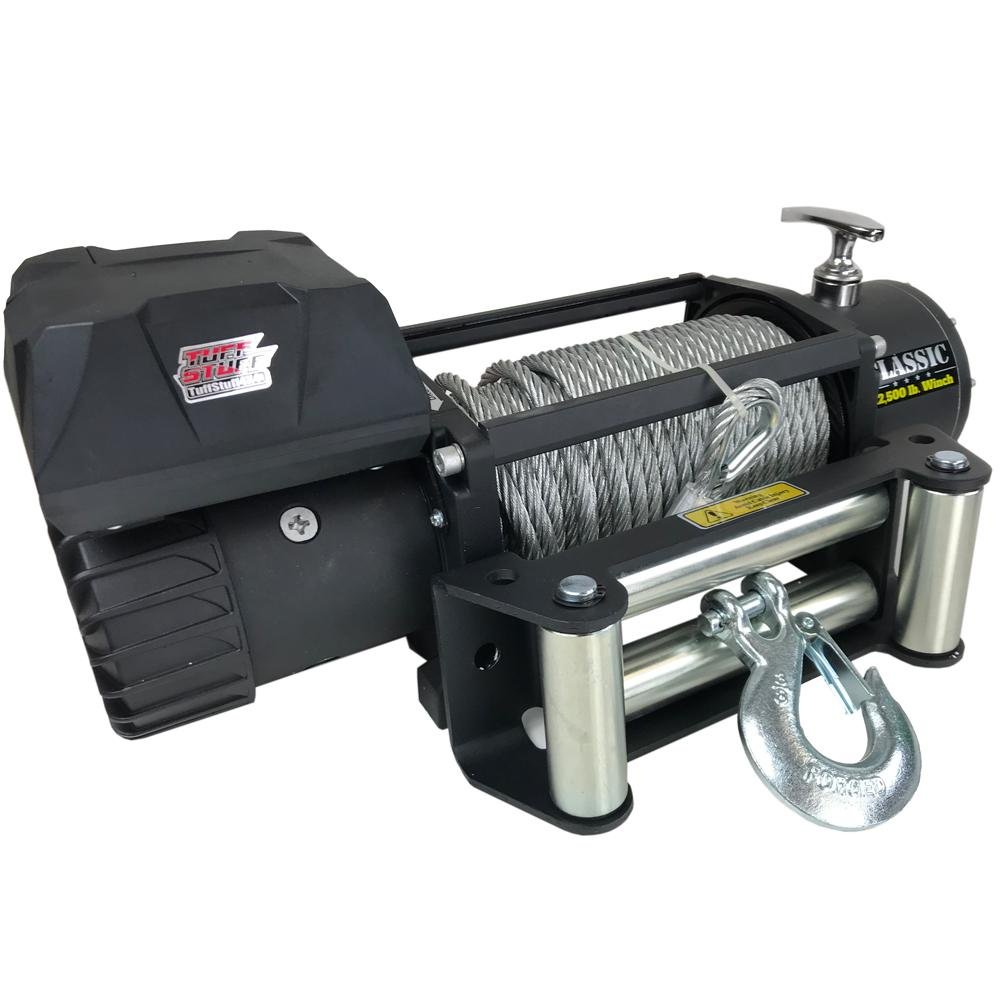 Tuff Stuff® Classic 12,500 lb. Winch, Gloves & Cover, Wireless - Tuff Stuff 4x4 & Tuff Stuff Overland