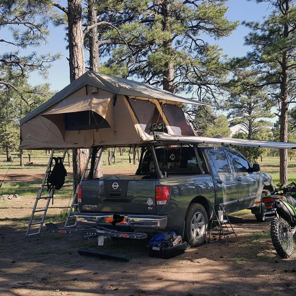 Adventure Kings Roof Top Tent Installation tuff stuff overland 5 person elite roof top tent | tuff