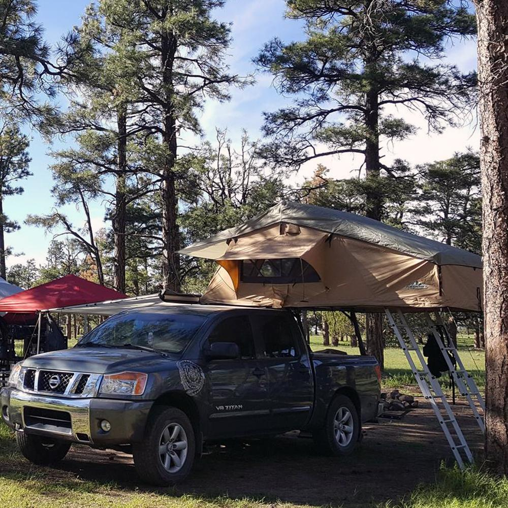 "Tuff Stuff® ""Elite"" Roof Top Tent, 5 Person - Tuff Stuff Overland"