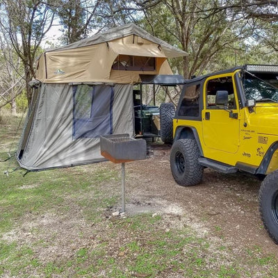 "Tuff Stuff® ""Elite"" Overland Roof Top Tent & Annex Room, 5 Person - Tuff Stuff 4x4 & Tuff Stuff Overland"