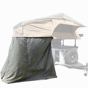 "Tuff Stuff® ""Elite"" Overland Roof Top Tent comes with an ANNEX ROOM for additional space."