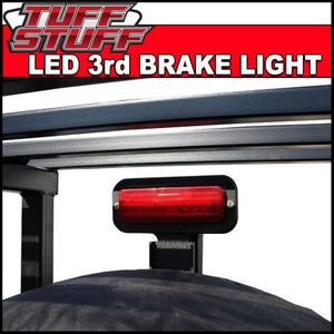 Tuff Stuff® LED 3rd Brake Light Kit (Adjustable) for Spare Tire Carrier - Tuff Stuff 4x4 & Tuff Stuff Overland