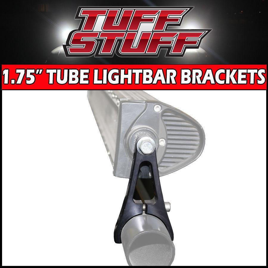 "Easily mount any double row LED light bar with side post or side screw Will mount to any 1.5"" tube 18 MONTH WARRANTY against manufacture defects"