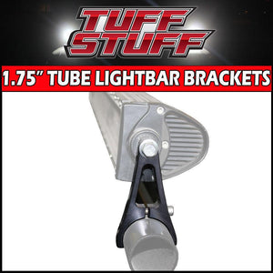 Tuff Stuff® LED Adjustable Light Mount, Billet Aluminum, Tube, Closed - Tuff Stuff 4x4 & Tuff Stuff Overland