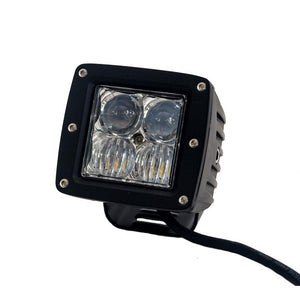 "Tuff Stuff® LED Cube Lights 2"" x 2"" Flood/Spot Beam, 20 Watt/1,860 Lumens - Tuff Stuff 4x4 & Tuff Stuff Overland"