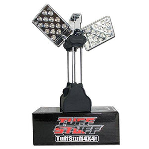 30 LED illumination Rotates 170 degrees vertically Rotates 360 degrees horizontally