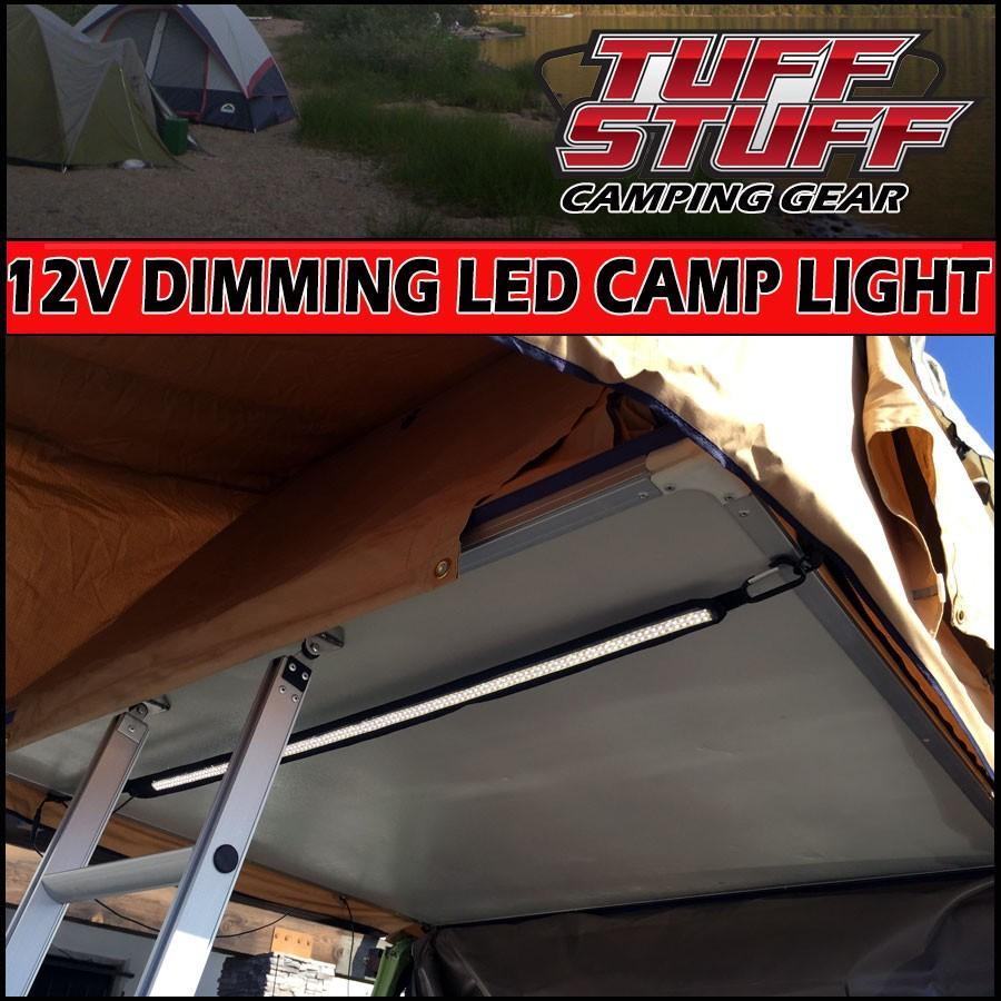Tuff Stuff® LED Light Strip 12v for Roof Top Tent - Tuff Stuff 4x4 & Tuff Stuff Overland