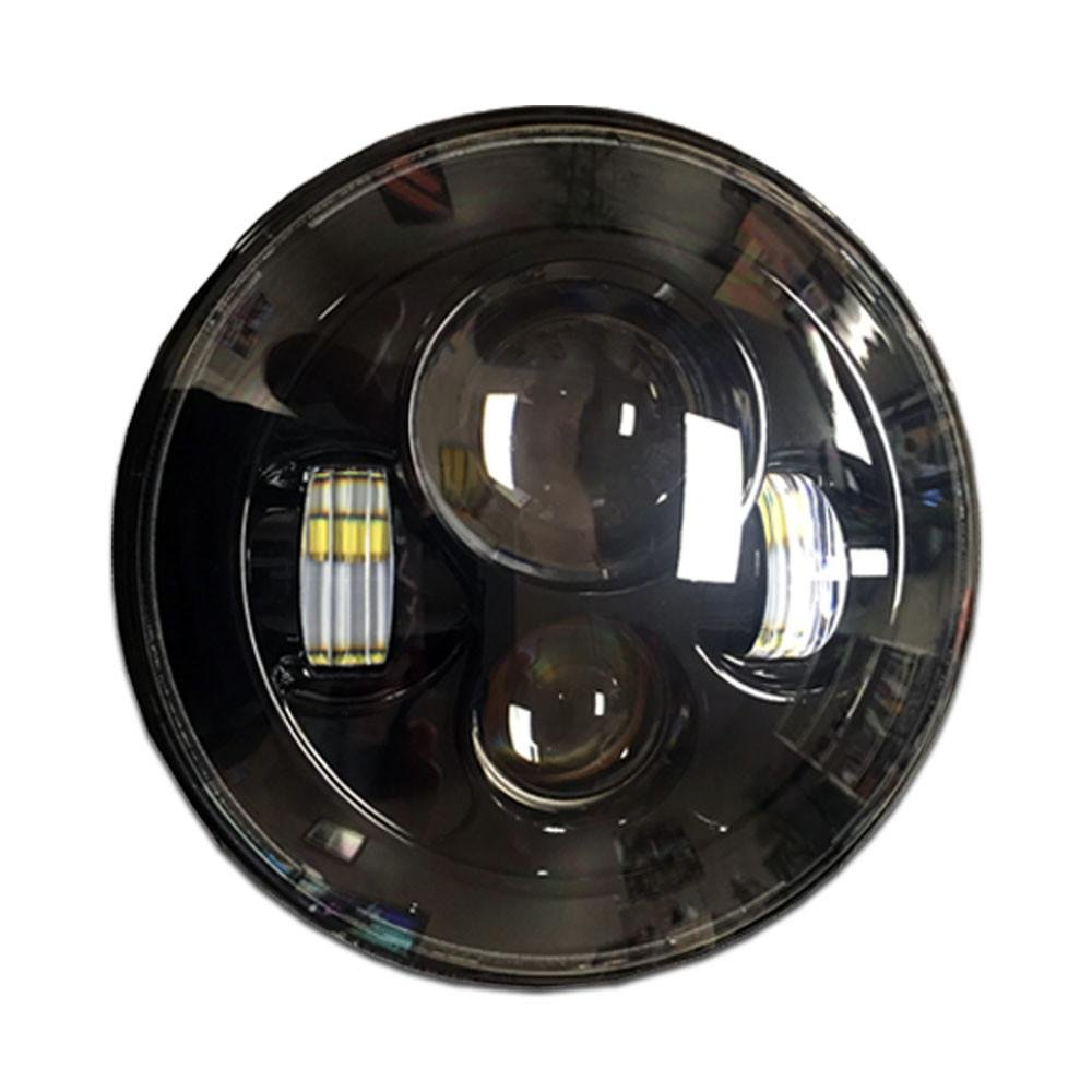 "Tuff Stuff® LED Projector Headlights 7"" Low/High Beam, Jeep® CJ/TJ/JK - Tuff Stuff 4x4 & Tuff Stuff Overland"
