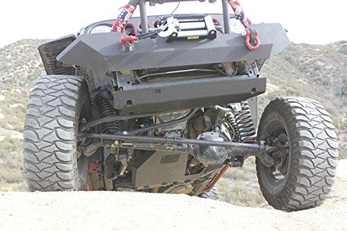 "1/4"" THICK SKID PLATE INSTALLS WITH NO CUTTING OR FABRICATION ALL INSTALLATION HARDWARE INCLUDED BLACK POWDER COATING FOR PROTECTION TAPERED WASHERS FOR HEX HEAD PROTECTION THICK DURABLE MOUNTING BRACKETS FOR HEAVY DUTY ABUSE"