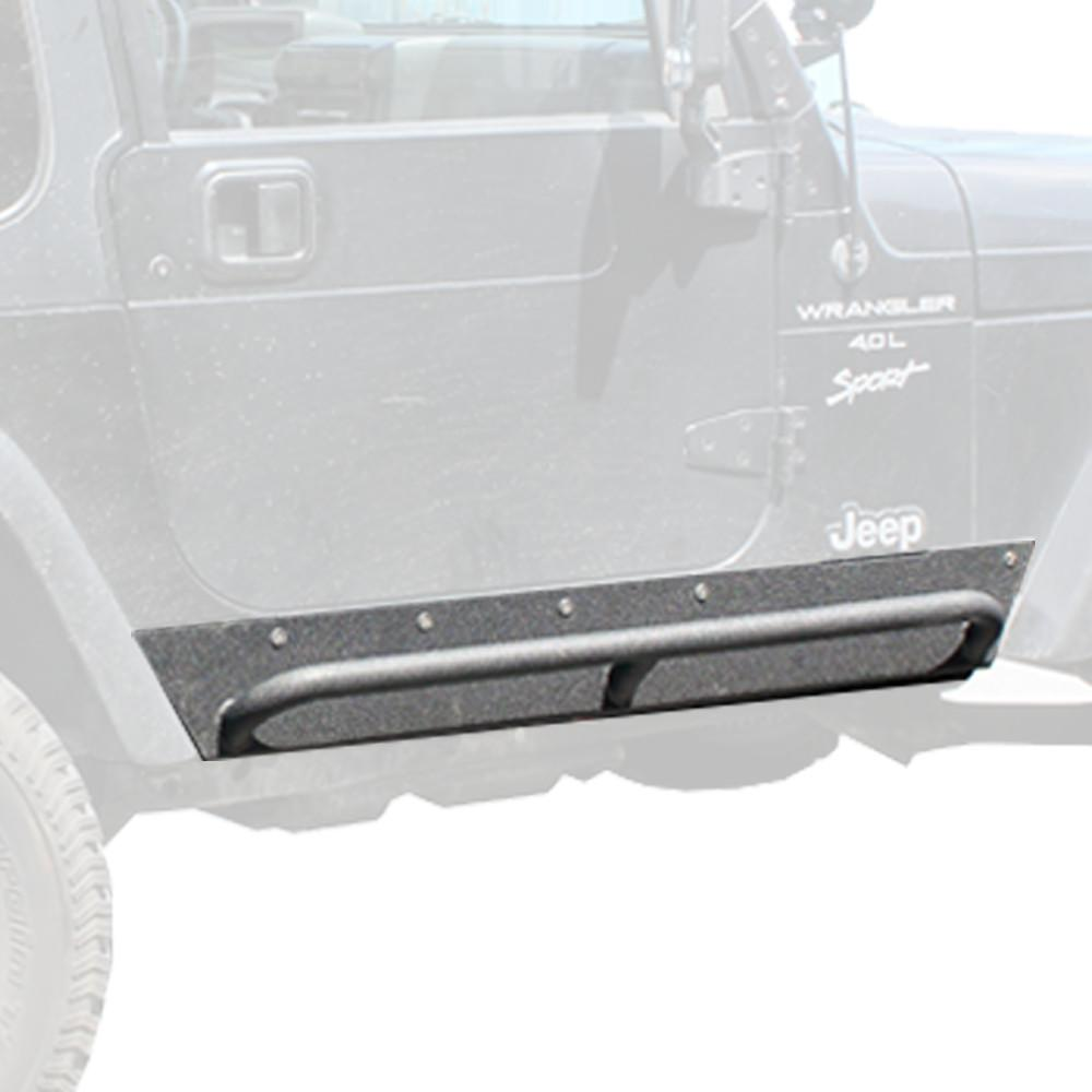 Tuff Stuff® Rock Sliders w/ Step - Tuff Stuff 4x4 & Tuff Stuff Overland