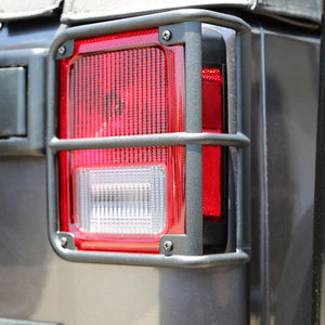 Tuff Stuff® Tail Light Guards, Black, 07-18 Jeep® Wrangler JK - Tuff Stuff 4x4 & Tuff Stuff Overland
