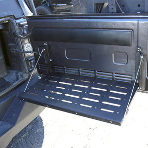 Tuff Stuff® Tailgate Table, Black - Tuff Stuff 4x4 & Tuff Stuff Overland