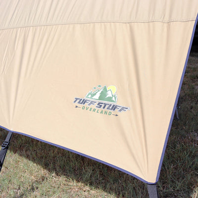 Tuff Stuff® Awning Shade Wall, 6.5 x 8 Feet