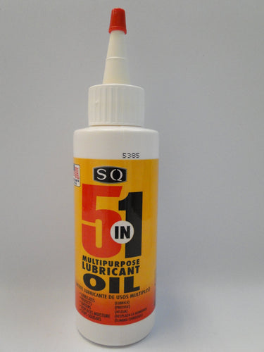 5 in 1 Multipurpose Lubricant Oil 4 Oz | Box of 16 Units