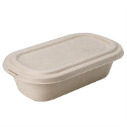 1000ml Bagasse Sugarcane Food Container with Lid