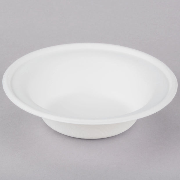 Biodegradable, Compostable Sugarcane / Bagasse 12 oz, 16 oz Round Bowls