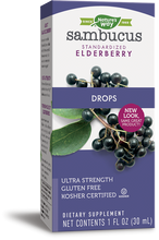 Load image into Gallery viewer, Sambucus Drops™ Ultra Strength (1oz.)