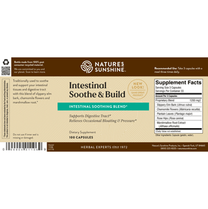 Intestinal Soothe & Build (100 Caps)