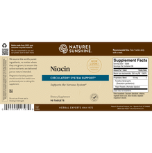 Load image into Gallery viewer, Niacin (250 mg) (90 Tabs)