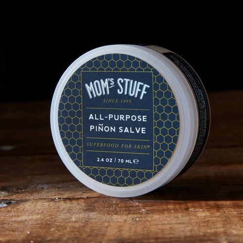 Mom's Stuff Salve - Full Size Plastic - All-Purpose Piñon Salve
