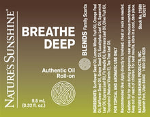 Load image into Gallery viewer, BREATHE DEEP Blend Roll-On (10 ml)