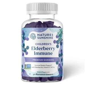 Elderberry Immune (60 Veg. Gummies)