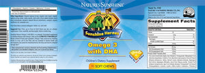 Omega-3 with DHA (90 Soft Chews)
