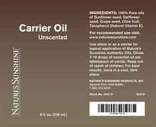 Load image into Gallery viewer, Carrier Oil (8 fl.oz.)