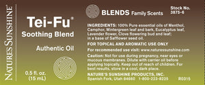 Tei-Fu® Soothing Essential Oil Blend (15 ml)