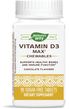 Load image into Gallery viewer, Vitamin D3 5,000 IU Chewables