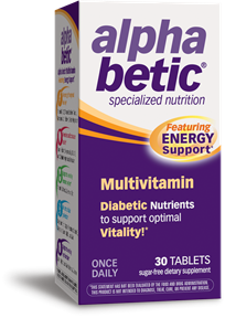 Alpha Betic® Multivitamin (30 Tablets)