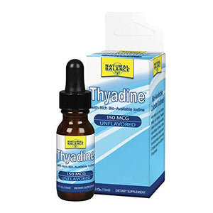 Thyadine Rich Bio-Available Iodine 150 mcg. - 0.5 oz.