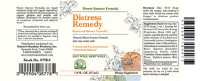 Distress Remedy (Flower Remedy) (2 Fl Oz)