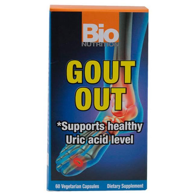 Gout Out -- 60 Vegetarian Capsules