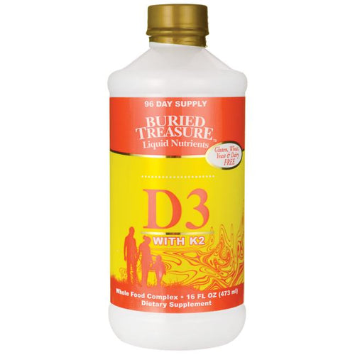 D3 Plus K2 -- 16 fl oz