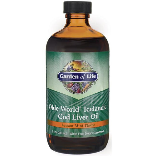 Olde World® Icelandic Cod Liver Oil Lemon Mint -- 8 fl oz