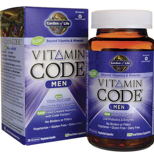 Vitamin Code® Men -- 120 Vegetarian Capsules