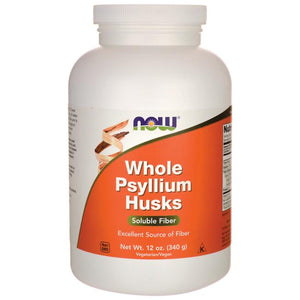 Whole Psyllium Husks 12oz.