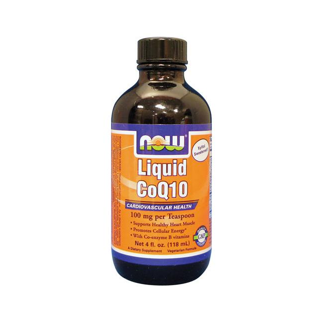Liquid CoQ10 -- 100 mg - 4 fl oz