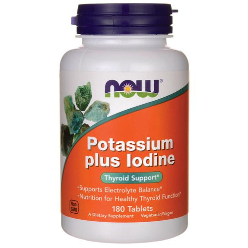 Potassium plus Iodine -- 180 Tablets