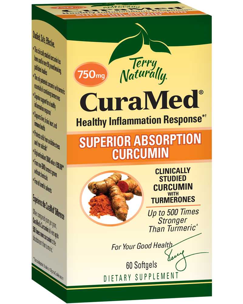 CuraMed® (750 mg) 120 Softgels