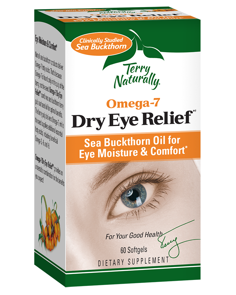 Omega-7 Dry Eye Relief*† (60 Softgels)